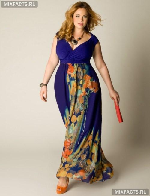 Фасоны платьев для полненьких женщин