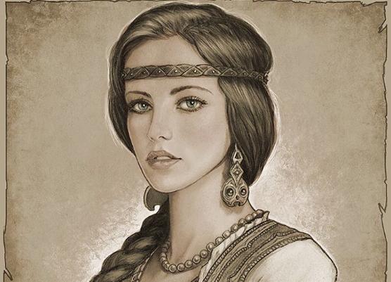 Знания предков о силе женских волос