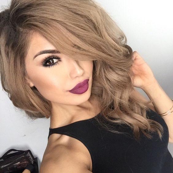 Пепельно-коричневый оттенок волос – новый стиль