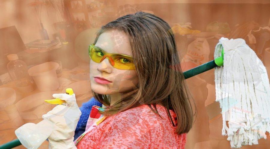 Уборка в комнате без слез: воспитываем детей-подростков