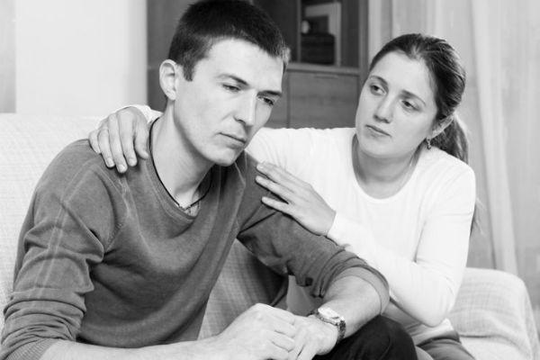 У мужчины депрессия… Чем ему помочь?