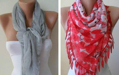 Как правильно носить женский шарф: 52 лучших варианта!